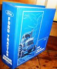 FORD 2600 3600 4100 4600 5600 6600 7600 7700 TRACTORS  SERVICE  MANUAL w/BINDER
