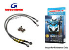 Goodridge Moto Guzzi 750S 75 Front & Rear Braided Brake Lines Hoses Stainless St