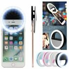 Selfie Portable LED Ring Fill Light Camera Photography for Apple iPhone Android