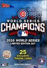 2016 TOPPS WORLD SERIES CHICAGO CUBS CHAMPION BOX SET