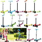 Ancheer Scooter for Kids Deluxe 3 Wheel Glider Kick Adjustable Height 5 Types