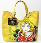 ED HARDY VERONICA YELLOW LADIES HANDBAG SUMMER BEACH BAG TOTE BAG NEW