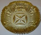 Federal Glass GEORGETOWN Yellow Ashtray 6