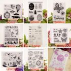 Transparent Silicone Clear Rubber Stamp Cling DIY Diary Scrapbooking Decors