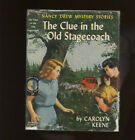 Nancy Drew 37 The Clue in the Old Stagecoach 1960A 1 HB DJ 1st 1st