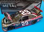 Kevin Harvick 2012 Budweiser 29 Bud Brushed Metal Chevy 1 24 NASCAR Diecast