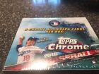 2016 Topps Chrome Baseball Jumbo Hobby box 5 autos