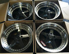 18 ESR SR04 Gunmetal Wheels For Honda S2000 Prelude 18x85 5x1143 +30 Rims Set