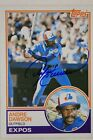 Andre Dawson Expos HOF 1983 Topps #680 Autographed Signed Baseball Card
