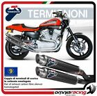 Termignoni ROUND 2 Exhausts carbon approved Harley Davidson XR1200R