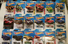 Hot Wheels 2017 2016 Lot of 40 NEW Cars Mustang Superchrome Forza McLaren Zamac