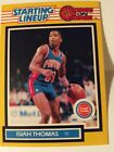 1989 Isiah Thomas Detroit Pistons Starting Lineup Yellow Card One On One-Free SH