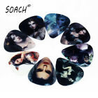 SOACH 10pcs 0.71mm Musical Accessories Two Sides Game Sexy Beauty Guitar Picks