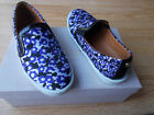 550 Jimmy Choo Demi Slip On Sneakers Flat Shoes Violet Floral 36 US 6 NEW