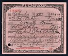 Prohibition Prescription Whiskey Antique Doctor Pharmacy 1930 MN Peterson Bar