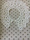 Lace Collar  - Handmade w/white Crochet Thread