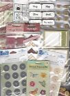 LOT OF SCRAPBOOK EMBELLISHMENTS OVER 40 WORTH EK SUCCESS JUNKITZ CLOUD 9