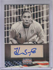 2012 Americana Heroes and Legends Auto #99 Hope Solo 129 - NM-MT