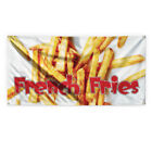 French Fries 1 Outdoor Advertising Printing Vinyl Banner Sign With Grommets