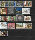 45 Used Great Britain Commemorative Stamps