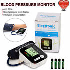 Digital Arm Blood Pressure Monitor BP Cuff Gauge Heart Rate Device Automatic Tes
