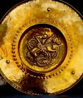 Crafts Brass Charger Wall Plaque George And Dragon