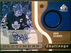 DOUG GILMOUR AUTHENTIC AUTOGRAPH AND PIECE OF A JERSEY 100 SP