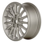 02091 Refinished Chrysler Concorde 1998 2001 16in Wheel Silver w Textured Inlays