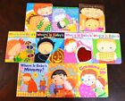 Set of 10 Lift-the-Flap Baby Board Books Karen Katz Easter Egg Belly Button L2