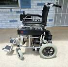 Merits Folding Power Chair Electric Wheelchair 18 Wide Seat