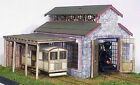 On3 On30 WISEMAN BACKWOODS ENGINE HOUSE SHOP OR CRITTER SHED STRUCTURE KIT