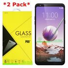 2 Pack Premium Tempered Glass Screen Protector For LG Stylo 4