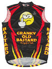 SALE 2495 Cranky Old Bastard Cycling Team Jersey Mens Sleeveless Free Shipping