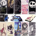PU Leather Case Wallet Case Premium Leather Case Cover Stand For Samsung iPhone