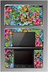 Flowers Beautiful Butterflies Monarch Video Game Decal Skin Nintendo 3DS