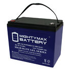 Mighty Max 12V 75AH GEL Battery Replacement for Levo Max 300 Wheelchair