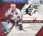 2017 18 UPPER DECK SPX SEALED HOBBY HOCKEY BOX