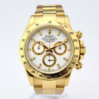 Rolex Cosmograph Daytona Yellow Gold White Dial 116528 - WATCH CHEST