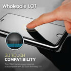 Wholesale LOT 9H Tempered Glass Screen Protector Cover For iPhone X 8 7 6S Plus