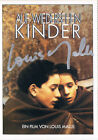 Louis Malle 1932 95 autograph signed German CINEMA movie poster card 4x55