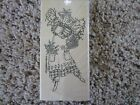 Rubber Stamp Garden Flowers Angel Holding Water Can Vine Wings Seeds Bulbs Ivy