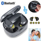 Double Mini Buletooth Headset In-Ear Earbud With Charging Case For Huawei P20
