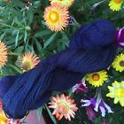 HAND PAINTED DYED SOCK YARN 90 WOOL 10 NYLON Doom 3 SPIDER GODDESS LK