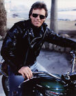 Richard Dean Anderson on Mootorcycle 8x10 photo V9241