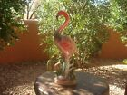 Fun Vintage Mid Century Modern, Retro Iridescent  Flamingo, Dee Bee Co.,10 1/2