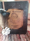 Primitive Country Olde Homestead Christmas Journal Distressed Book Cupboard Tuck