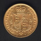 Great Britain.  1859 Half Sovereign..  VF/gVF - Much Lustre