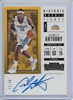 2017-18 Contenders Carmelo Anthony Historic Rookie Ticket Auto 11 49