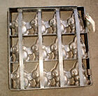 LARGE EARLY ANTIQUE PEWTER EASTER BUNNY RABBIT CHOCOLATE CANDY MOLD PRIMITIVE!