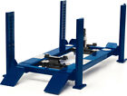 Greenlight 12884 Adjustable Four Post Lift Blue for 118 Scale Diecast Vehicles
